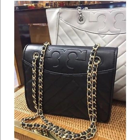 784f0707a7 Tory Burch Bags   Alexa Convertible Shoulder Bag Black   Poshmark